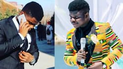 Wode Maya: Top Ghanaian YouTuber Posts Old Photos Wearing Suits, Claims He Had No Money