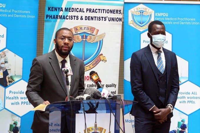 Katibu wa KMPDU Chibanzi Mwachonda adai madaktari hulazimishwa kufanya kazi licha ya kuwa na COVID-19