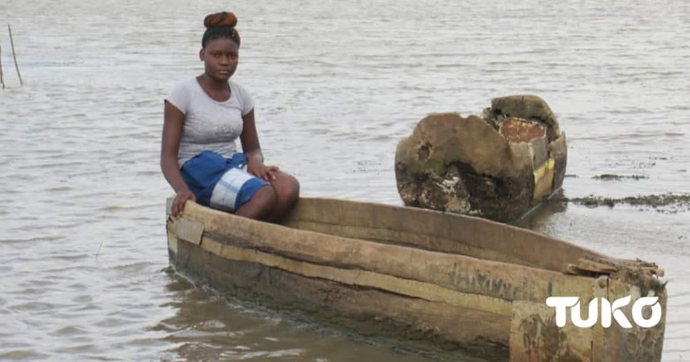 Mata Kaja from Tana River county. Photo: Caroline Mwawasi.