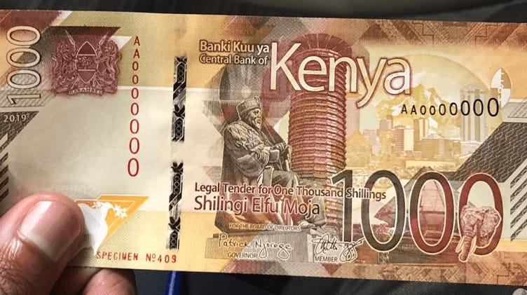 New Kenyan currency