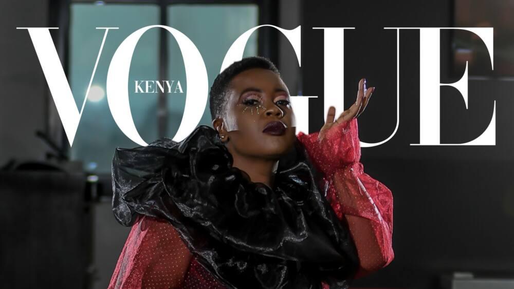 Radio girl Kalekye Mumo's Vogue challenge photos feature on CNN