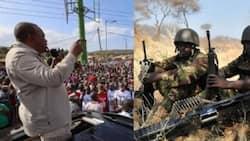 Rais Uhuru aamrisha ardhi iliyochukuliwa na KDF kuregeshewa jamii ya Wasamburu