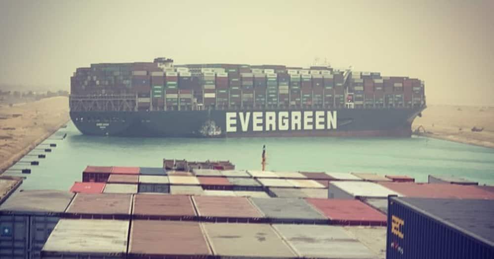 Traffic Jam in Mediterranean Sea as Giant Ship Gets Stuck, Blocks in Suez Canal