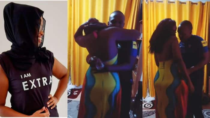 """Ben Kitili's Wife Tells Off Fan Who Reminded Her It's Ramadhan after Salacious Video: """"Niwache Please"""""""
