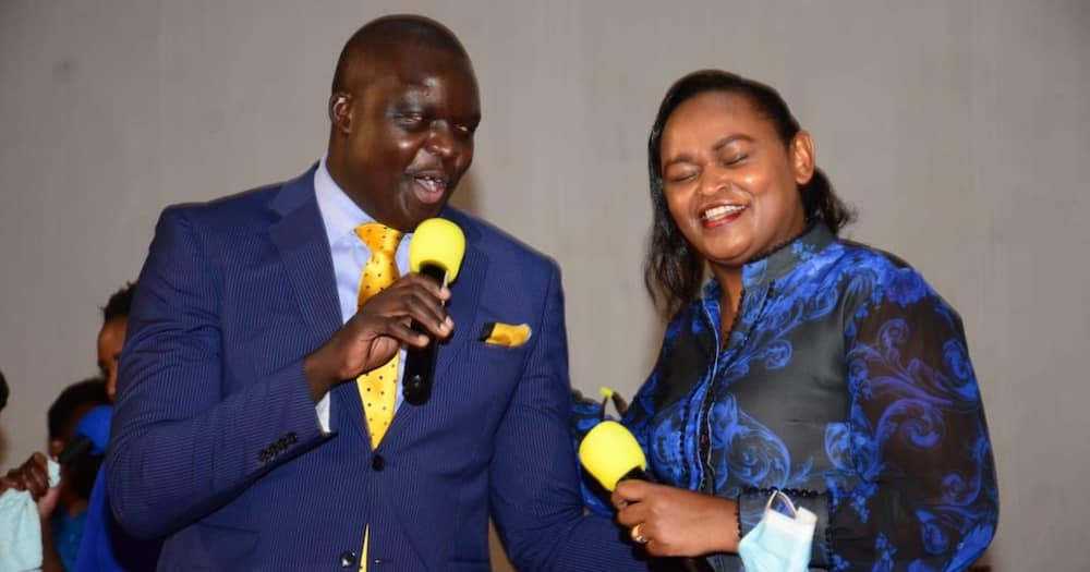 Couple Goals: CAS David Osiany, Wife Syombua Lead Songs in Worship Event