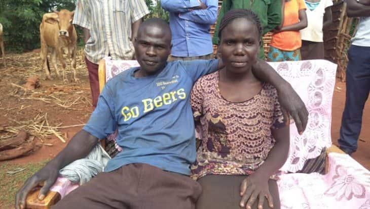 Lilian Weta and Christopher Bwire