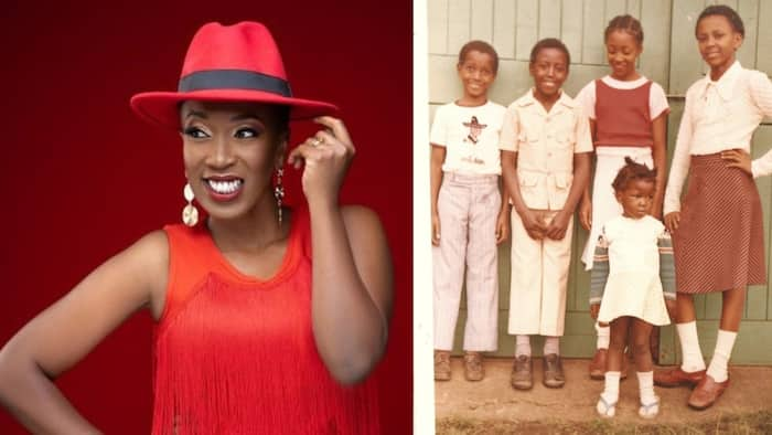 Wahu Kagwi Introduces Adorable Four Siblings to Her Fans