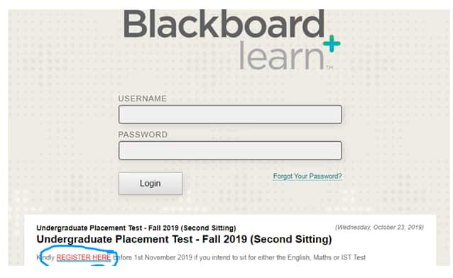 USIU Blackboard - register, login, notes, ICT contacts