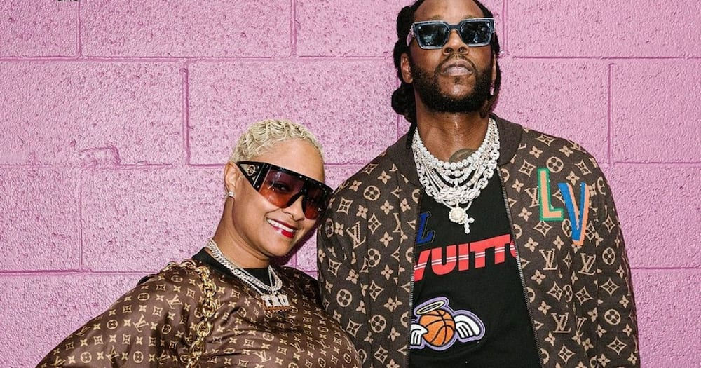 2 Chainz celebrated his wife Kesha on their wedding anniversary.