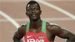 Mark Otieno: Kenyan sprinter provisionally suspended by Athletics Integrity Unit