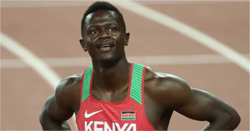 Mwanariadha Mkenya Atimuliwa Kwenye Olimpiki kwa Kutumia Pufya