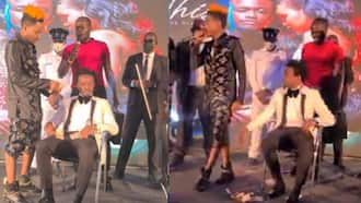 Eric Omondi Showers Bahati With Loads of Cash to Cover KSh 200k Financial Support Scrapped by Ezekiel Mutua