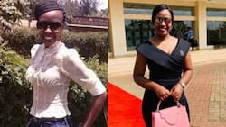 Teacher Wanjiku steps out looking younger in figure-hugging dress on birthday