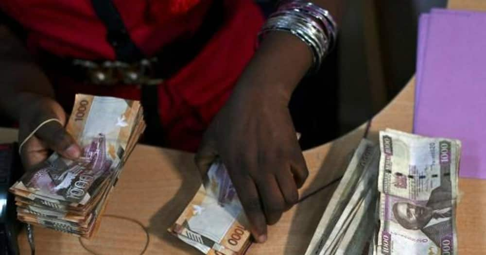 Wads of Kenyan currency. Photo: Getty Images.