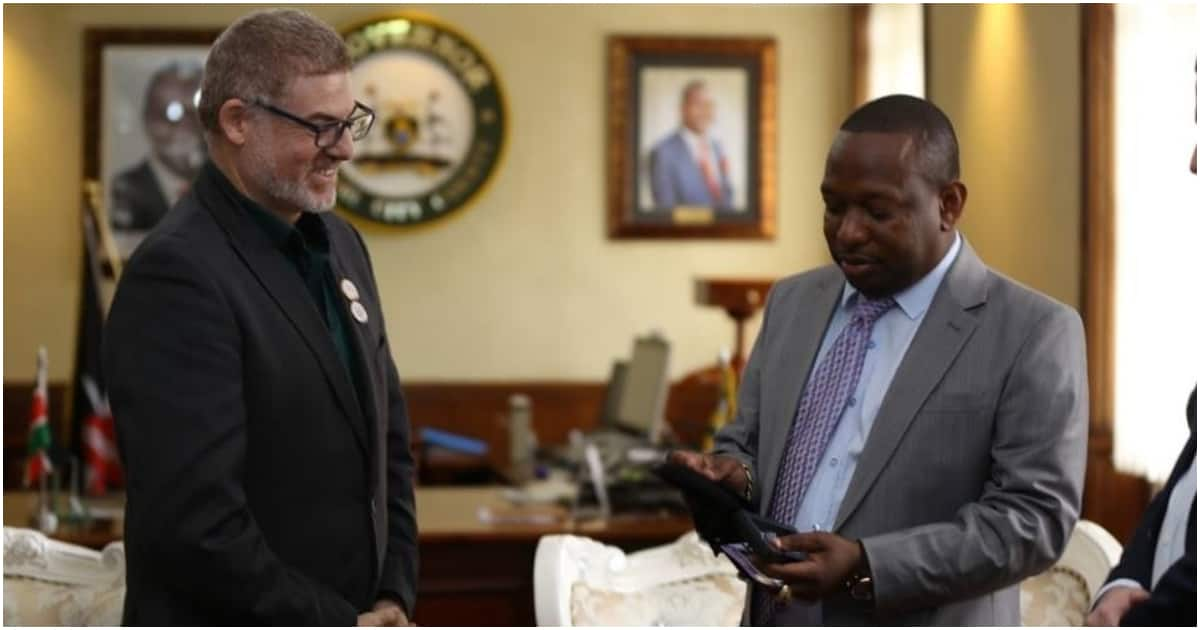 Sonko receives another special recognition for making Nairobi look beautiful