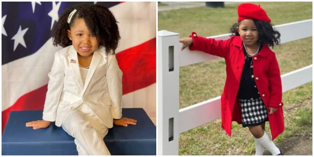 4-year-old Girl who Recreated Michelle Obama's Inauguration Look Does Same with Beyonce's New Collection