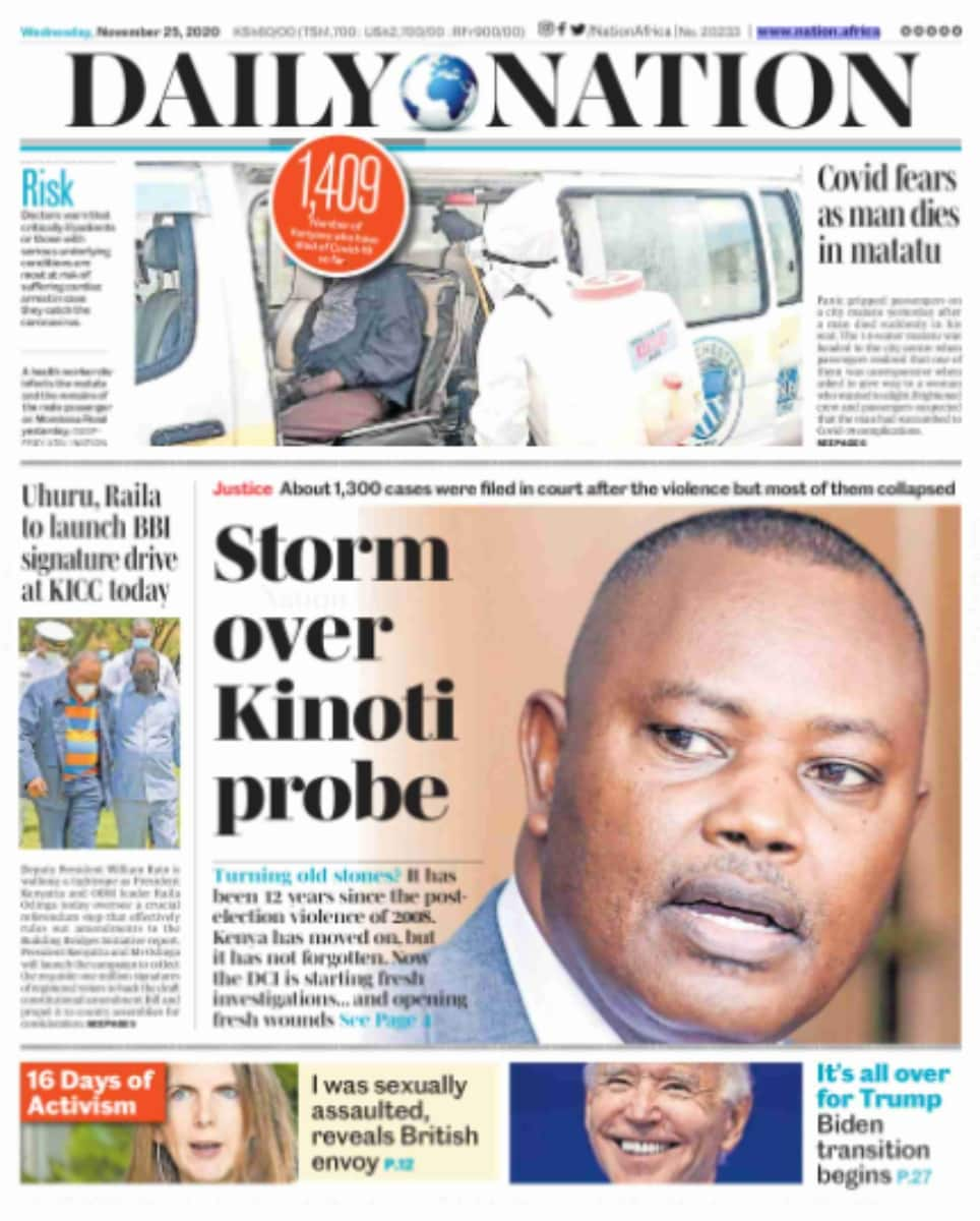 Daily Nation newspaper