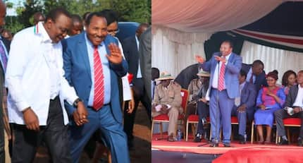 Governor Ferdinand Waititu's introduction of his team to Uhuru Kenyatta will leave you in stitches
