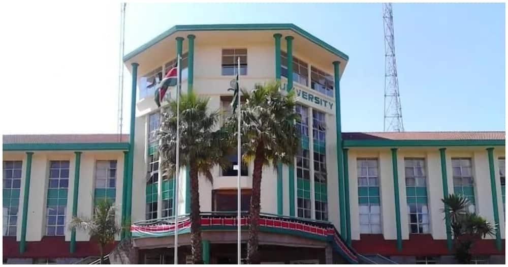 The Moi University administration block. Photo: Moi University