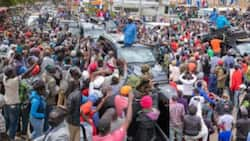 Raila Odinga Attracts Huge Crowds in Laikipia as He Jostles for Votes from The Mountain