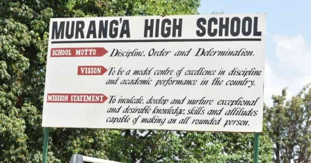 Is Muranga High School avoiding the wheels of Justice using courts of law?