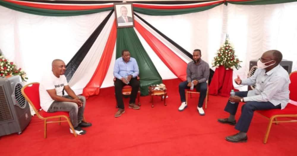 Uhuru hosts Msambweni ODM aspirant Omar Boga ahead of by-election