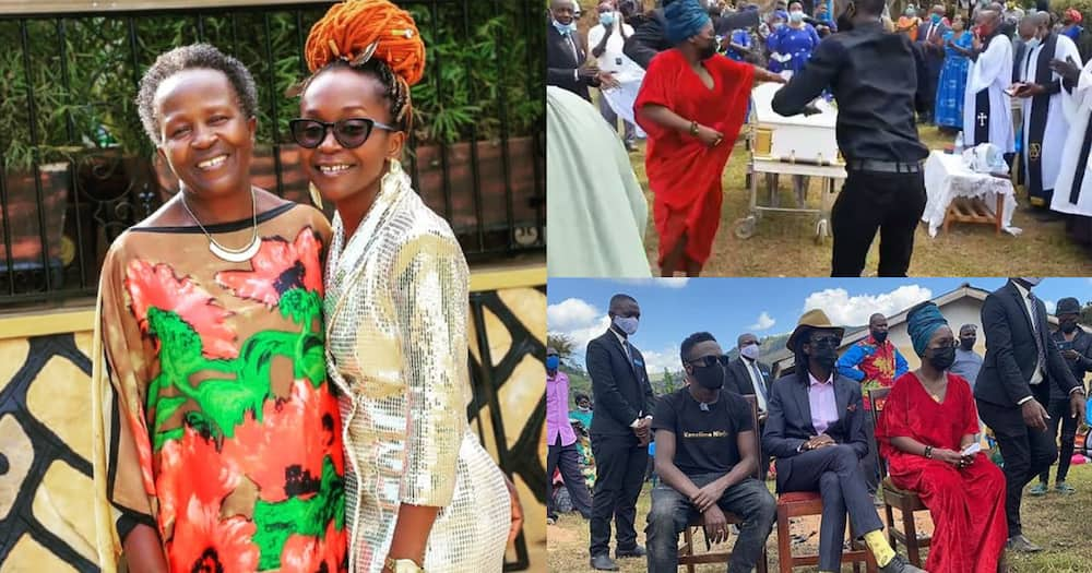 Anne Kansiime's mother buried