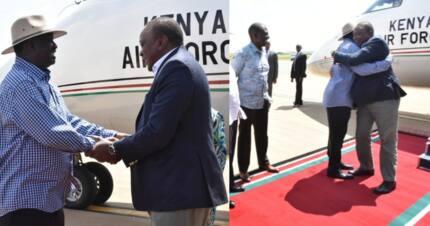Raila amkaribisha Uhuru kishujaa kwenye ngome yake ya Kisumu