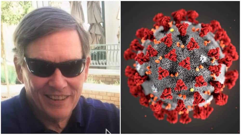 Grandpa James said 10 out of the people at the party caught the virus. Photo source: Twitter/James Henderson/NewScientist