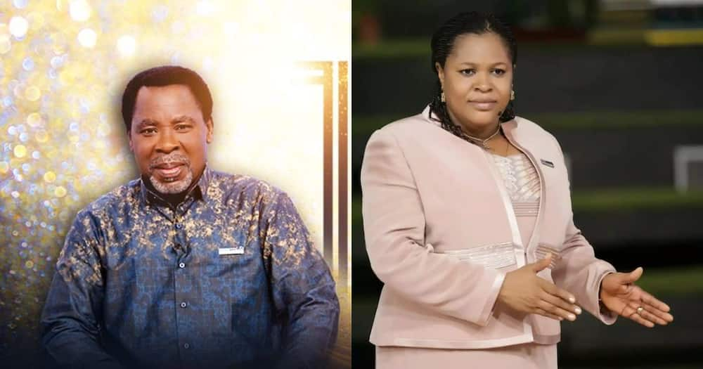 TB Joshua's wife opens up about her husband's death, says it is heart-breaking