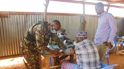 KDF Soldiers Provide Free Medical Care to Hundreds of Somalia Citizens