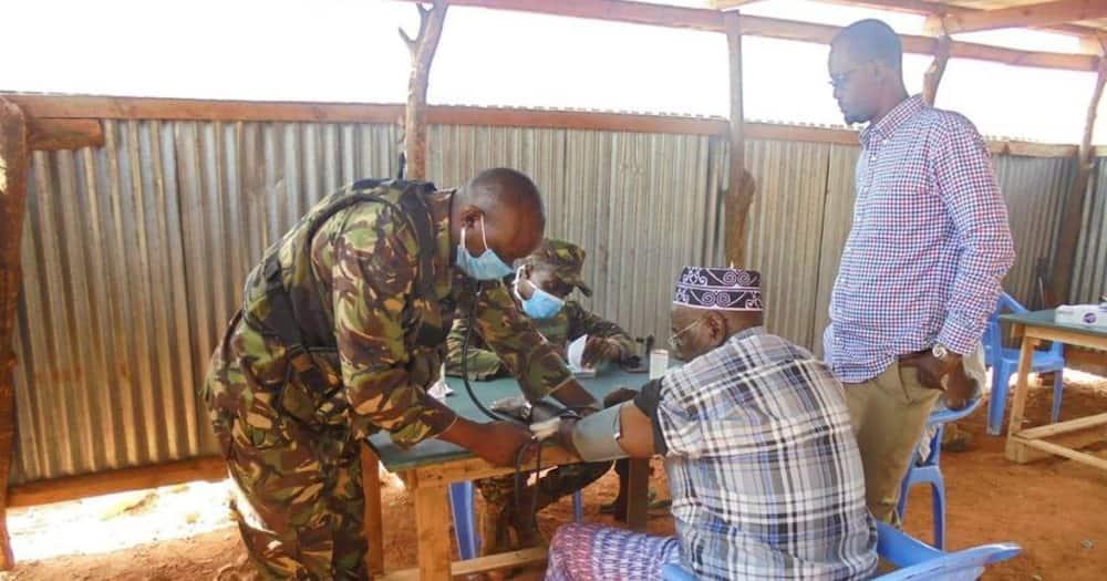 Kenya Defense Force.