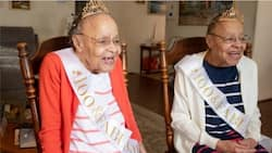 Bowie Twin Sisters Showered with Gifts During Their 100th Birthday Celebration