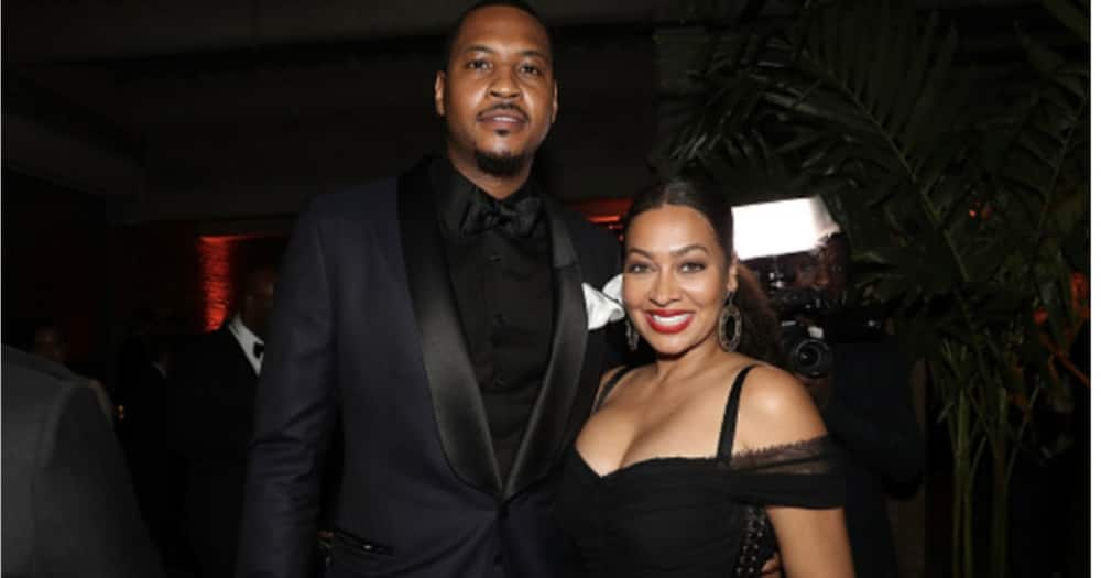 Kim Kardashian's BFF La La Anthony and her estranged hubby Melo have been in an on and off relationship.