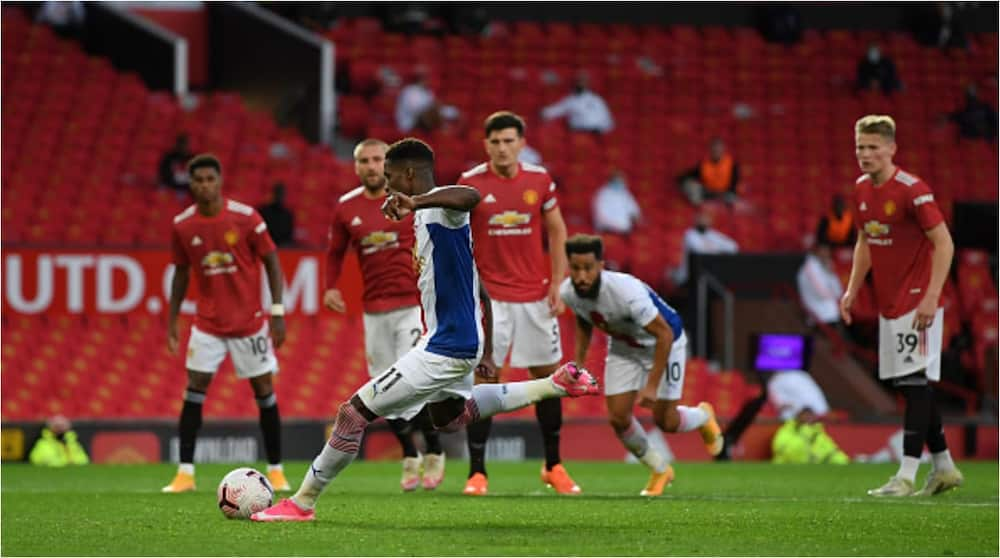 Manchester United vs Crystal Palace: Zaha's brace sends Eagles to victory at Old Trafford