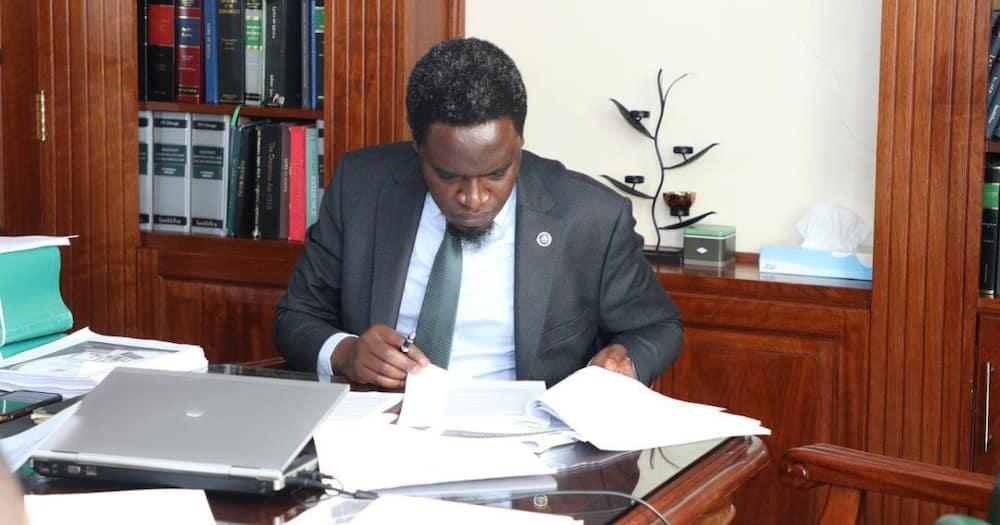 LSK President Nelson Havi. Photo: Nelson Havi.