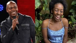 Renowned Comedian Dave Chappelle Says Elsa Majimbo's Reactions Upon Meeting Him Warmed His Heart