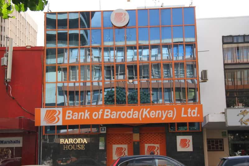 Bank of Baroda Kenya branches and contacts