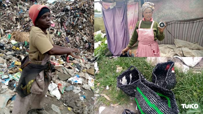 Nakuru: Innovative Women Recycle Waste Products to Make Baskets for Sale