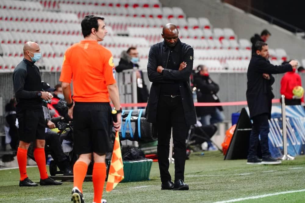 Patrick Viera: Nice fire Arsenal legend after Europa League defeat to Bayer Leverkusen