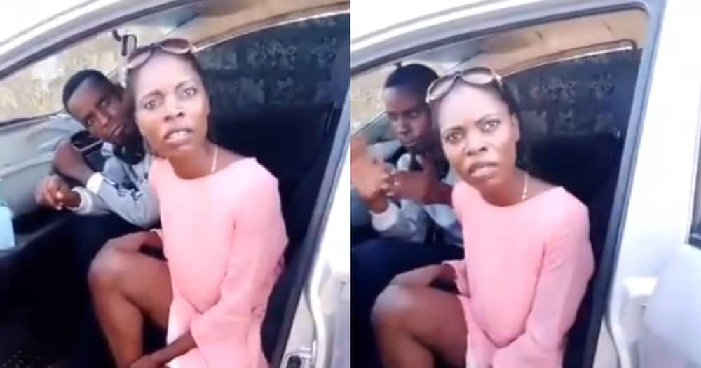 Sharing is caring: Lady urges married women to share their husbands in hilarious video