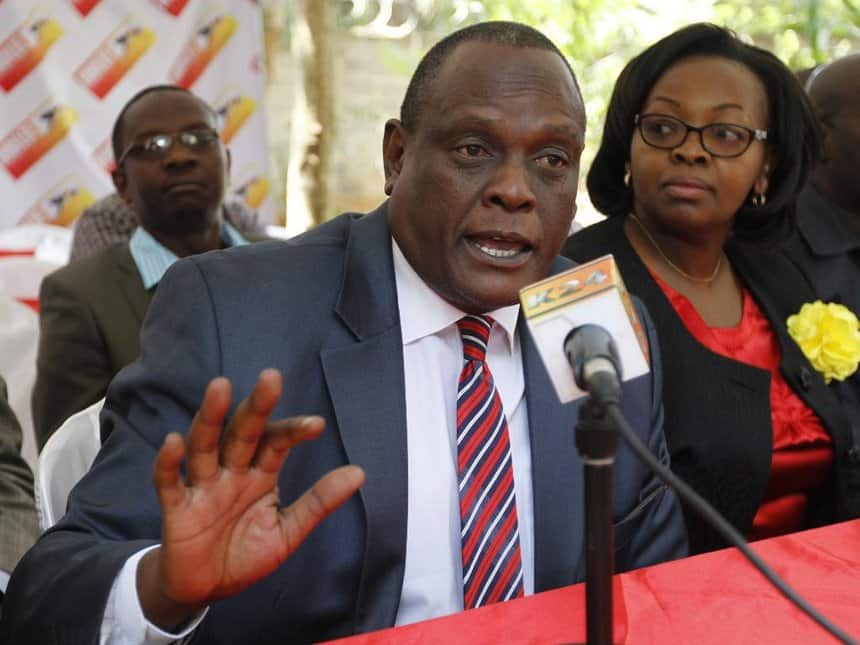 Uhuru can't wish reopening of ICC cases even on his worst enemy, David Murathe