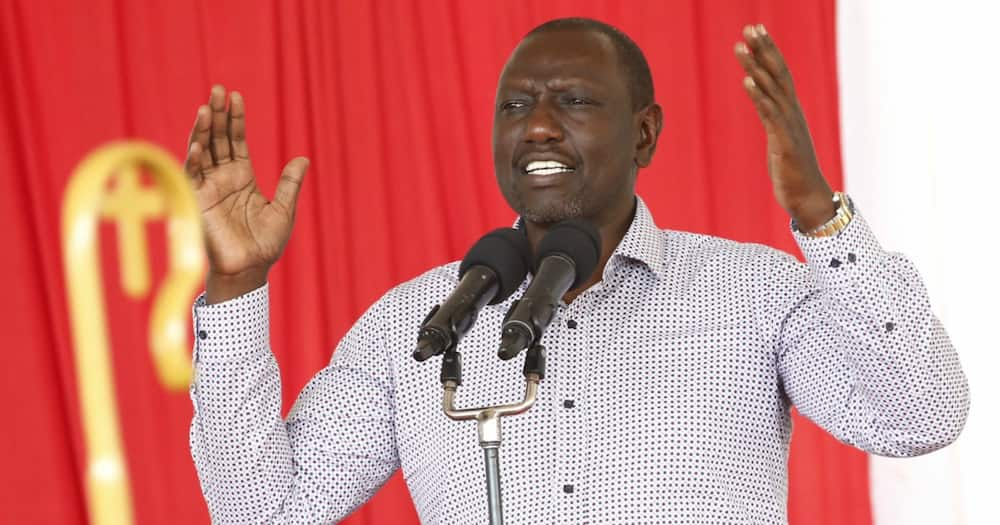 William Ruto condolences to Trans Nzoia Women Rep following loss of her father irks netizens