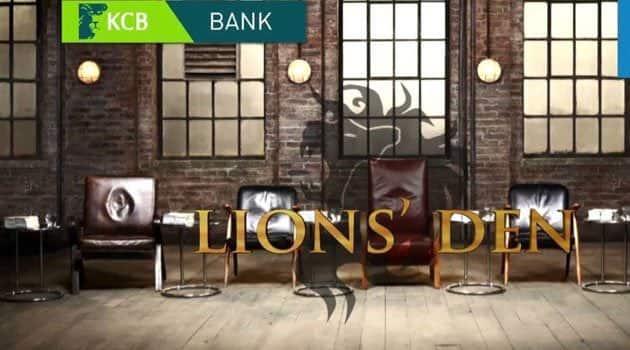 KCB Lion's Den application process