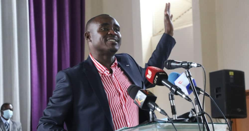 Cleophas Malala Laughs Off His Ouster as Senate Deputy Minority Leader