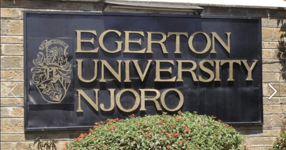 Edward Jage was a student at Egerton University.