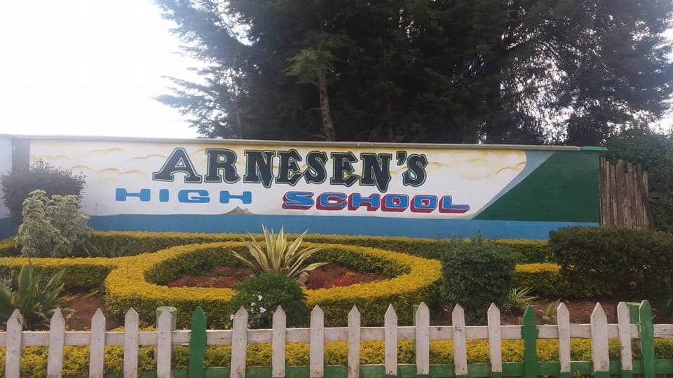 The deceased's parents suspect he might have succumbed to COVID-19. Photo: Arnesen's High School.