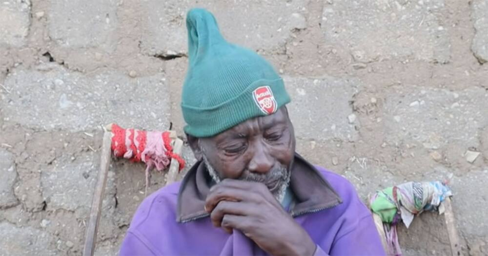 Mzee Matata's wife abandoned him.