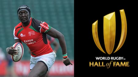 Humphrey Kayange to Be Inducted Into World Rugby Hall of Fame