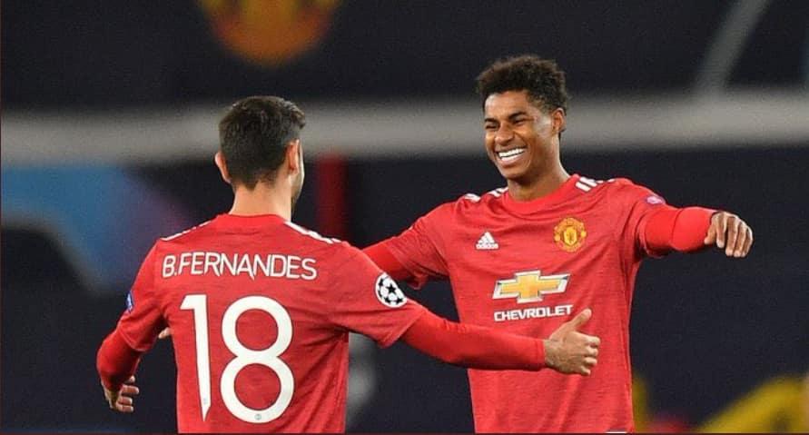 Rashford apata hat trick Man United ikinyonga Leipzig 5-0 kwenye UEFA